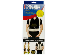 Magnetic Unisex Posture Support Brace ( Case of 18 )