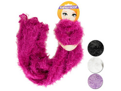 Fluffy Crocheted Fashion Scarf ( Case of 16 )