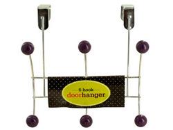 6 Hook Over Door Hanger ( Case of 36 )