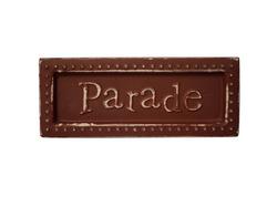 Parade Mini Metal Sign Magnet ( Case of 18 )