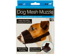 Adjustable Nylon Mesh Dog Muzzle ( Case of 40 )