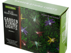 Dragonfly Solar Powered LED String Lights ( Case of 3 )