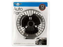 12 Volt Auto Fan with Suction Cup ( Case of 4 )