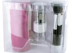 Cosmetic Brush & Tool Set ( Case of 8 )