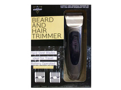 beard and hair trimmer b/o ( Case of 2 )