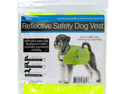Category: Dropship Pet Supplies, SKU #OS297-96, Title: Reflective Dog Safety Jacket ( Case of 96 )