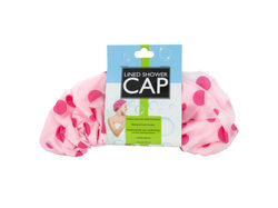 Microfiber Lined Shower Cap ( Case of 16 )