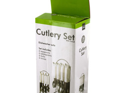Cutlery Set with Stand ( Case of 4 )