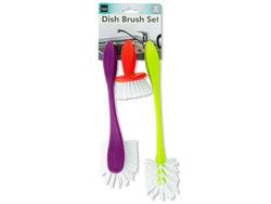 Dish Scrub Brush Set ( Case of 6 )
