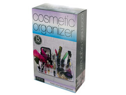 15 Compartment Cosmetic Organizer ( Case of 4 )