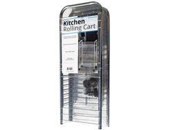 3-Tier Medium Rolling Kitchen Cart ( Case of 3 )