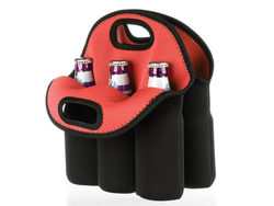 Six Pack Protective Bottle Carrier ( Case of 4 )