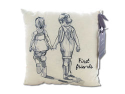 First Friends Embroidered Accent Pillow ( Case of 12 )