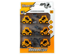 6 Piece Pull Back Super Friction Power Trucks ( Case of 2 )