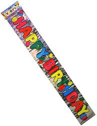 Foil Happy Birthday Banner ( Case of 36 )