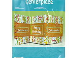 Chic Happy Birthday Table Centerpiece ( Case of 48 )