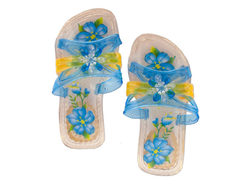 Children's Princess Crystal Slippers ( Case of 54 )