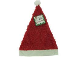 Category: Dropship Seasonal, SKU #SA320-240, Title: Tinsel-covered Santa hat ( Case of 240 )