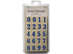 """snap-stamps set numbers formal 1"""" ( Case of 27 )"""