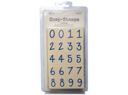 "snap-stamps set numbers casual 1"" ( Case of 9 )"
