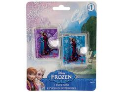 Disney Frozen Mini Keychain Notebooks Set ( Case of 24 )