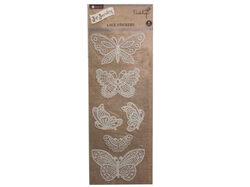 butterfly lace sticker ( Case of 72 )