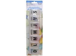 Large Spanish Language 7-Day Pill Box ( Case of 48 )