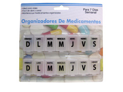 7-Day Spanish Language Pill Case ( Case of 24 )