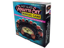 Roulette Drinking Game ( Case of 3 )