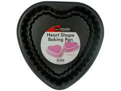 Heart Shape Baking Pan ( Case of 16 )