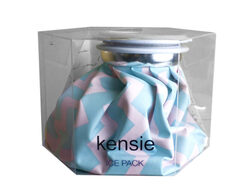 kensie pink & blue chevon cold therpay ice pack ( Case of 18 )