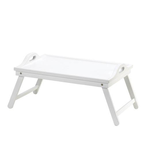 White Folding Tray