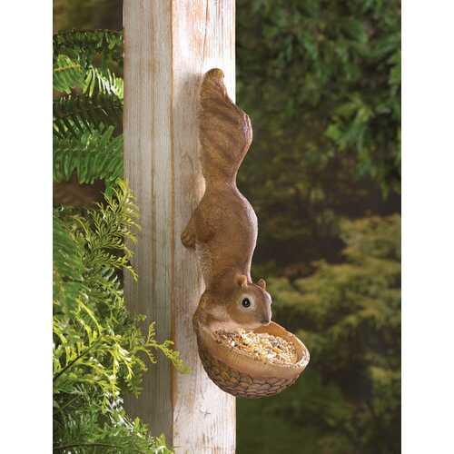 Scurrying Squirrel Birdfeeder