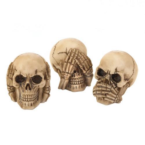 See Hear Speak Skulls Trio