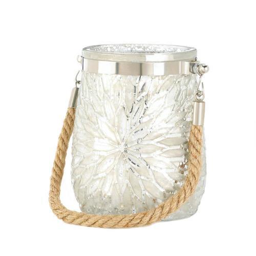 White Flower Candleholder