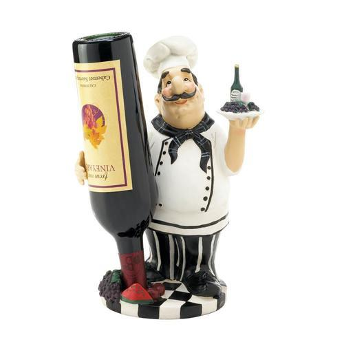 Chef Wine Bottle Holder