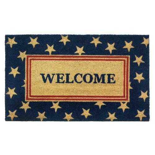 Patriotic Welcome Mat