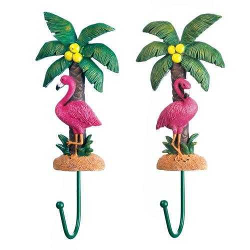 Flamingo Wall Hook Set