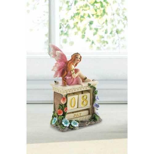 Pink Fairy Block Calendar