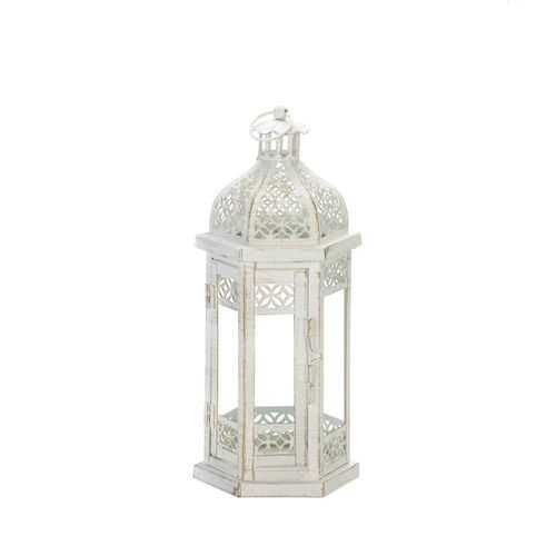 Antique-Style Floral Lantern