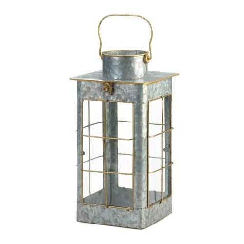 Farmhouse Galvanized Lantern