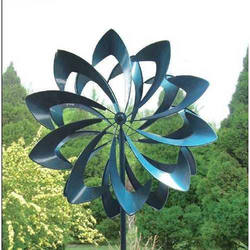"""84"""" Petals Windmill Garden Stake"""