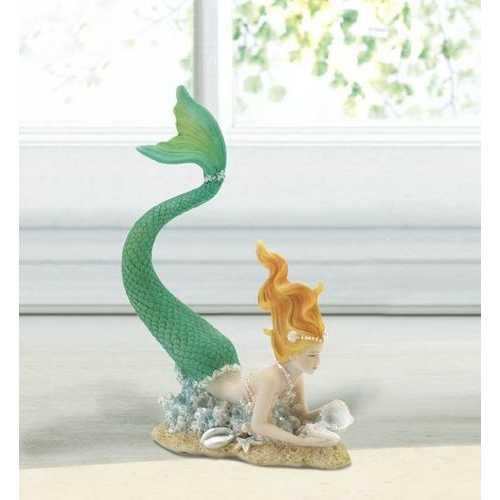 Resting Tail Up Mermaid Figurine