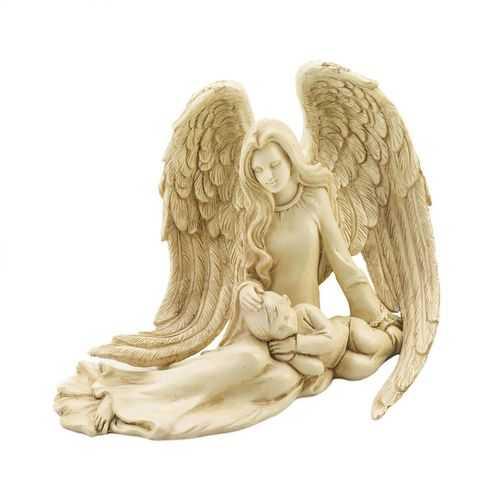 Angel & Child Figurine