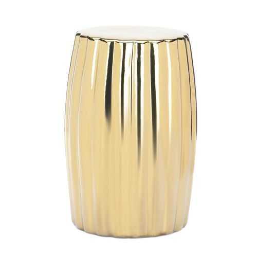 Gold Decorative Stool