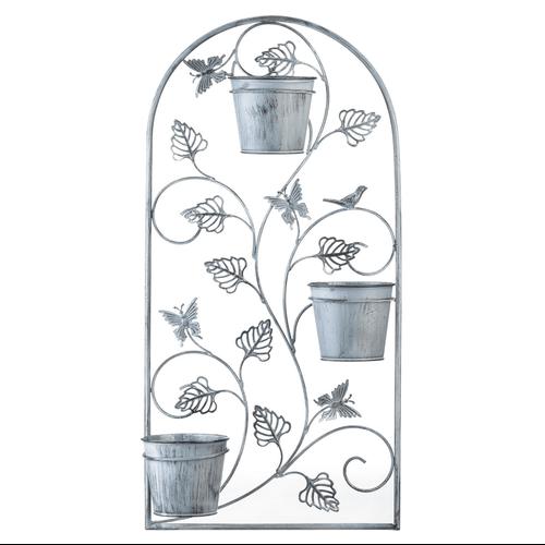 Butterfly Trellis Flower Pots