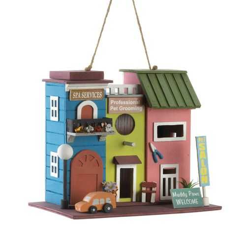 Pet Salon Birdhouse