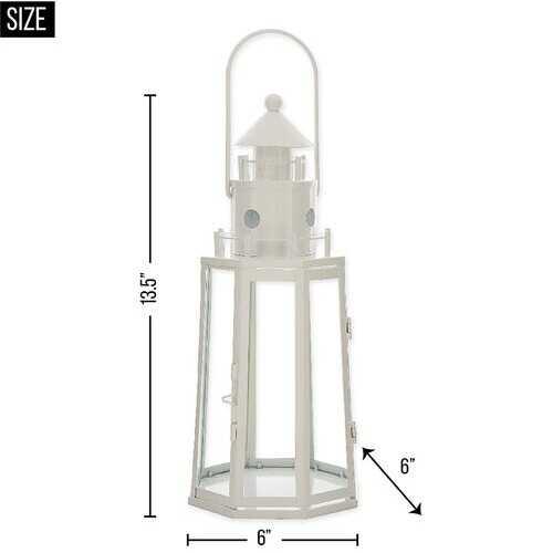 White Lighthouse Lantern