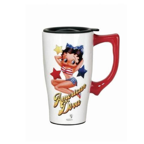 American Diva Betty Travel Mug