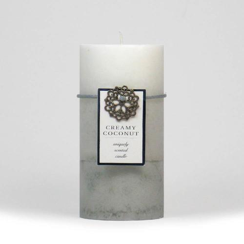Creamy Coconut Pillar Candle 3X6